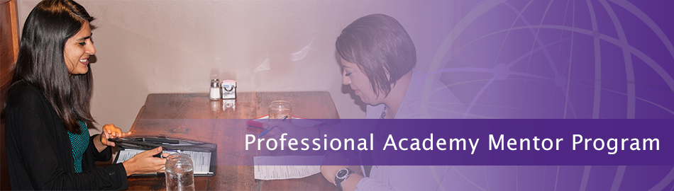 Professional Academy Mentor Program